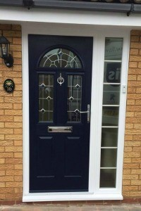 Composite Door-with-vision panel