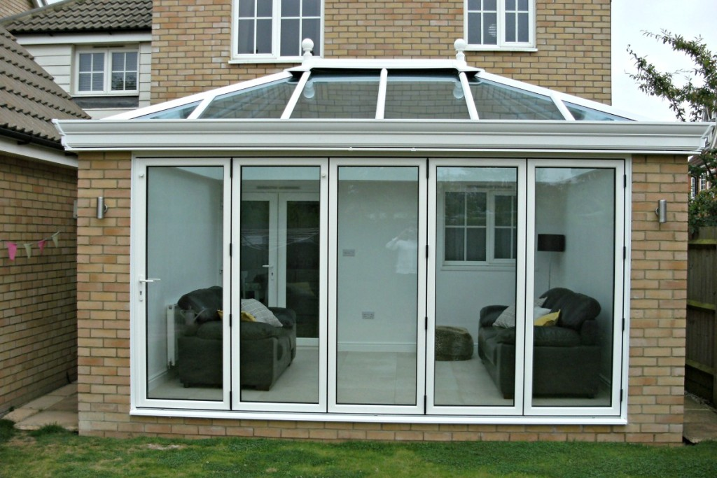 A wonderful new Conservatory/Orangery for one of our Ipswich clients.