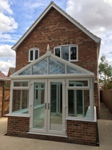 A new conservatory adds extra space