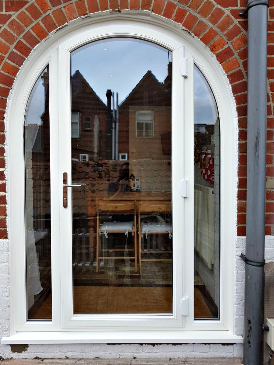 Gorgeous New Bespoke Upvc Arched Door For Aldeburgh Client