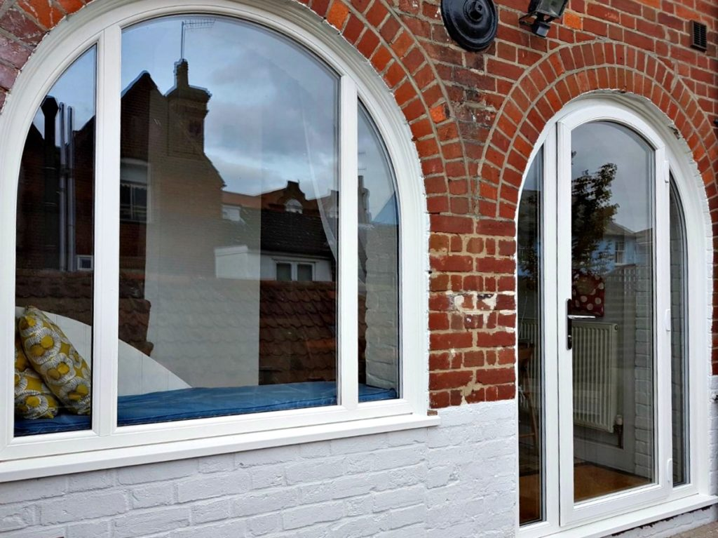 Gorgeous New Bespoke Arched Window for Aldeburgh Client