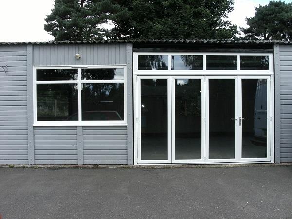 New Showroom Doors & Windows