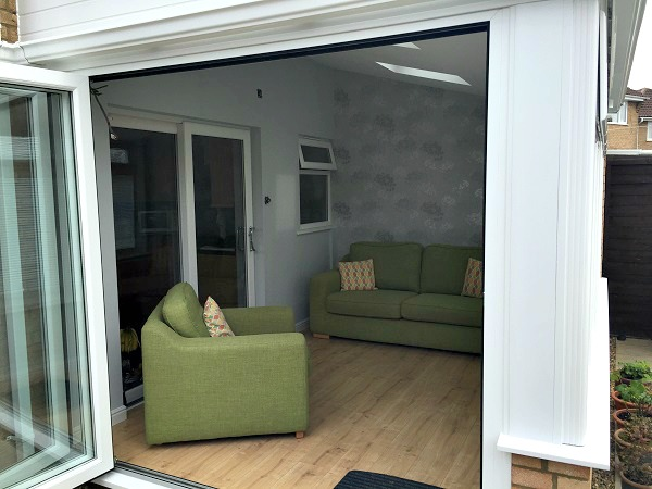 Bringing the outside in with Bi-fold Doors