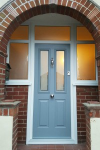 Lovely New Composite door & porch windows