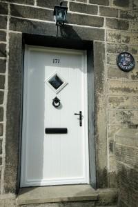 Welcoming Composite Front Door