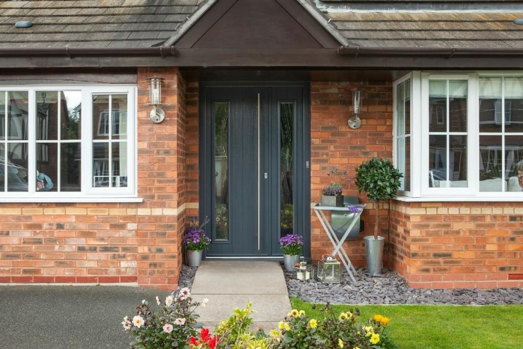 Wide Composite Front Doors