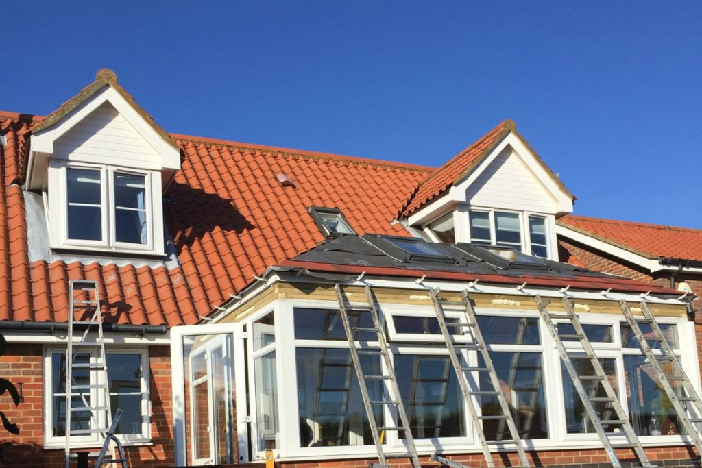 Replacement Conservatory Roof Project Ipswich