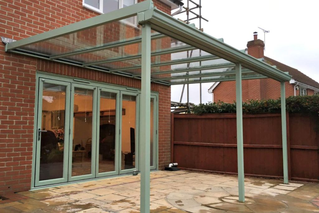 Bi-fold-doors-and-canopy
