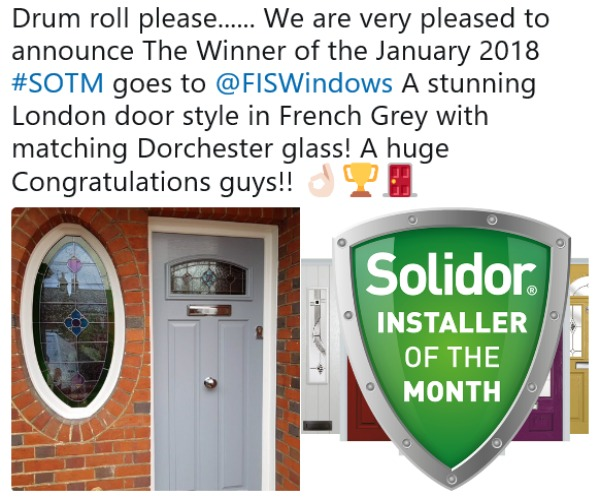 Solidor Winners January 2018
