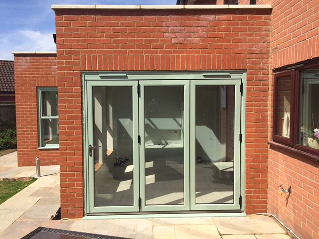 Bi-Fold doors add that finishing touch...