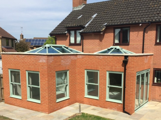 This Orangery creates a beautiful extension for Suffolk Home Owner