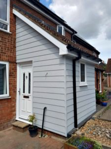 New Porch with UPVC Door