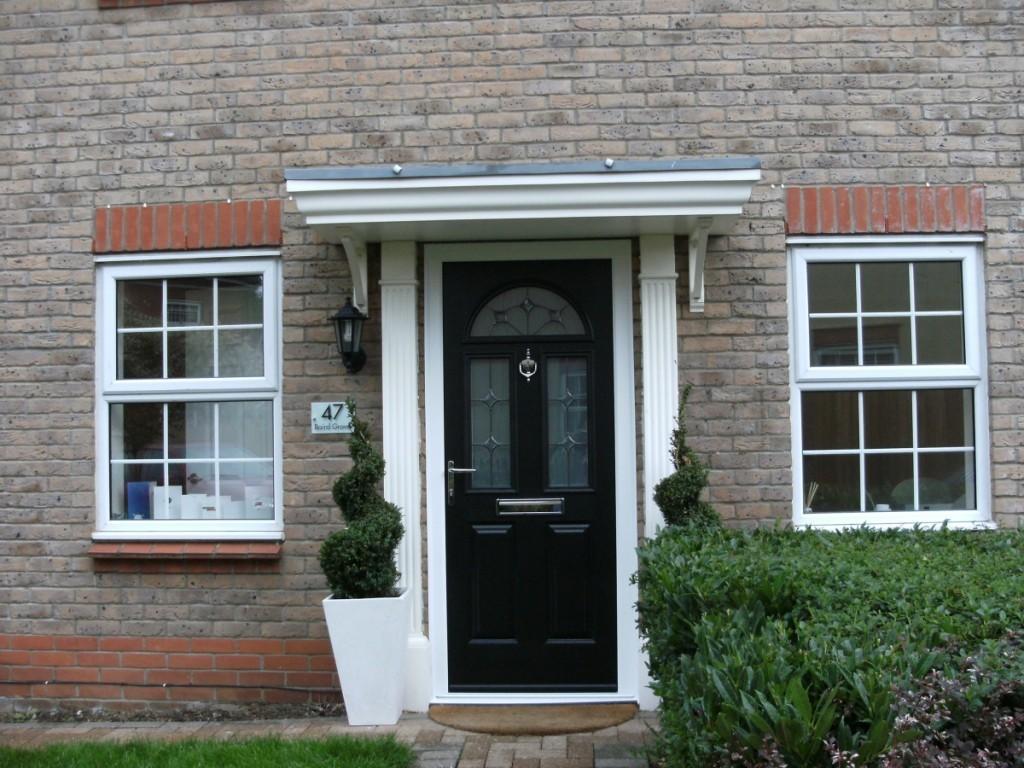A smart new front door