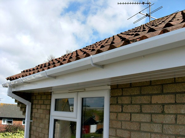 We complete the look with new guttering, fascias & soffits...