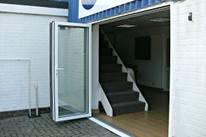 New Bi-fold Doors to our Offices