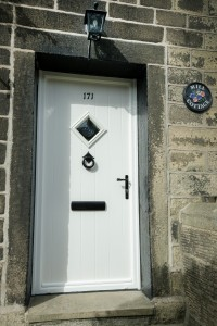 Welcoming Composite Front Door