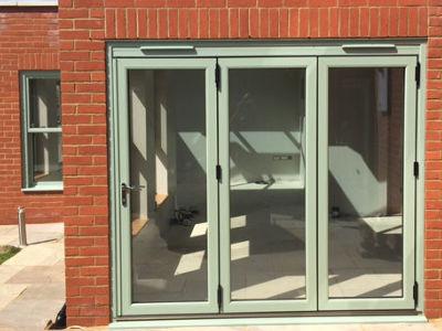 Aluminium-doors